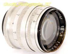 RARE!! Carl ZEISS Jena SONNAR 1:1.5 f=5.8cm Leica LTM / L39 fit Lens 58mm F1.5
