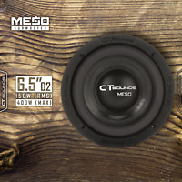 "CT Sounds Meso 6.5"" D2 150 Watt RMS Subwoofer 6.5 Inch Dual 2 Ohm Car Audio Sub"