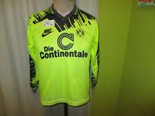 "Borussia Dortmund Nike Langarm Trikot 1993/94 ""Die Continentale"" + Nr.7 Gr.152"