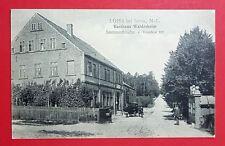 AK LOHS bei SORAU Niederlausitz 1911 Gasthaus Waldesheim Pferdekutsche ( 28444