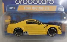 Hot Wheel Dropstars FORD MUSTANG GTR YELLOW 1/50th Ultra Deep Wheels Diecast NEW