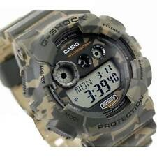 CASIO G-SHOCK, GD120CM-5 GD-120CM-5, BROWN CAMOUFLAGE CAMO, LIMITED, DIGITAL