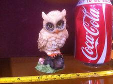 Owl Ornament Collectable Bid Statue Animal