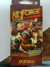 Keyforge Call of the Archons Deck (Opened Unsealed) - Logos Brobnar Mars 2 Rares