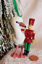 """Danbury Mint """"Flamingol"""" from The Baby Animal Ornaments Christmas Collection"""
