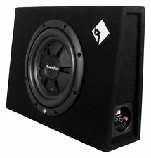 "Rockford Fosgate R2S-1X10 10"" 400W Sealed Loaded Shallow Truck Subwoofer+Sub Box"