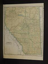 Vintage Map, 1934, Alberta R1#26