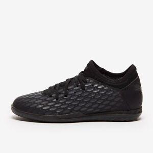 PUMA Men's Future 5.4 It Sneaker Soccer Black Mono Mens Soccer Shoes