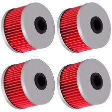 4 Oil Filter Filters for Honda XR250L XR250R XR400R XR500R XR600R XR650R XR650L