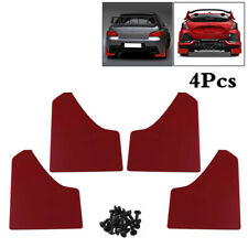 1 Set Car Front+Rear Fender Mud Flaps Mudguards Splash Guards MudFlaps Protector