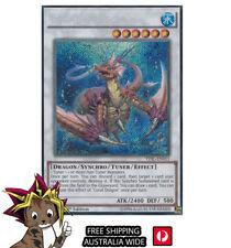 Yu-Gi-Oh!   Coral Dragon   TDIL-EN051   Secret Rare