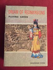 Vintage Dream of Red Mansions China Playing Cards Game Chinese Graphic Art New!