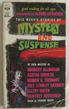 This Weeks Stories Of Mystery and Suspense Medallion F672  1957
