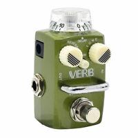 Hotone Skyline Series VERB Compact Digital Reverb Guitar Effect Pedal SRV-1