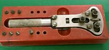 - Watchmaker Bench Repair Tool H&R Adjustable Watch Case Back Opener