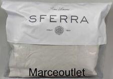 Sferra Fine Linens Larro 2600 Long Staple Cotton Queen Fitted Sheet Beige