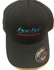 Sno-Jet Vintage Snowmobile Style Ball Cap - 70's logo