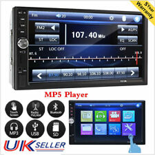 "7"" Bluetooth Car Stereo Radio FM/MP5 Player Touch Screen Double 2 Din In Dash YG"