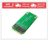 ASUS EEE PC 3x7cm Mini PCI-e SATA to 3x5cm mSATA SSD Adapter Converter Card