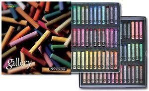 Mungyo Gallery Artists' Extra Fine Soft Pastel Set 90 Color Pastels MPA-90