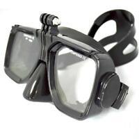 Maschera Gopro,Sjcam,Xiaomi,Action cam,maschera sub,subaquea,Snorkeling nera