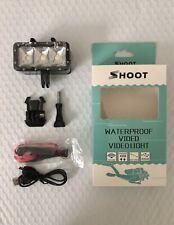 Diving light Flashlight Waterproof LED Video Light for GoPro Hero 7 6 5 Camera
