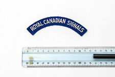 Patch Royal Canadian Armed Forces Signals corps