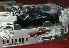"""ERTL 1968 DODGE CHARGER MODEL KIT 1/18 """"BULLITT"""" BODY SHOP SERIES"""