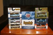 M2 Machines Squarebody Syndicate Complete set of 6 w/ sleeve