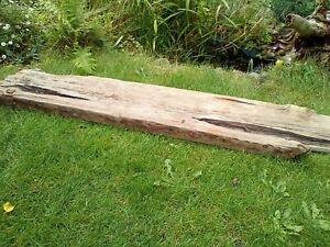 Driftwood Wooden mantle fire surround beam shelf lintel timber Length 118 cm