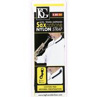 BG Model S80SH Alto/Tenor/Soprano Saxophone Nylon Strap with Snap Hook