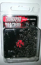Tronix Pro Max Pack Rolling Swivels Size 8 -  (100 Pack) - MP18