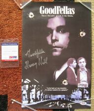 HENRY HILL 'GOODFELLA' AUTOGRAPH SIGNED 11x17 GOODFELLAS MOVIE POSTER PSA/DNA