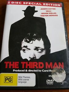 The Third Man (DVD) 2 Disc Special Edition Orson Welles