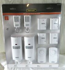 Defiant Wireless Home Security Protection System Sensors 1004 353 430