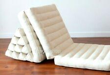 Foldout Triangle Thai Pillow Cushion 3 Fold, Day Bed Floor Cushion Kapok100%