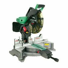 "Hitachi 12"", 15AMP Dual Bevel Miter Saw w/ Laser Guide C12FDH New"
