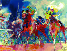 Horse/Race Horses/Art Print/Poster/Churchill Downs/Pop Art/16x20 inch