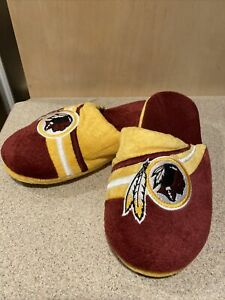 Washington Redskins NFL Men's Slide Slippers, Size Small (7/8) ~ NWT