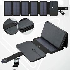 10W Chargeur De Batterie Solaire Portable Panneau Solaire Pliable 5V 2.1A