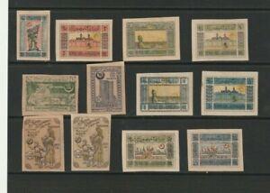 Azerbaijan  Unusual Stamp Selection  (4533)