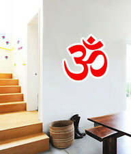 "Om Aum Sign India Buddhism Hinduism Wall Decal Large Vinyl Sticker 23"" x 22"""
