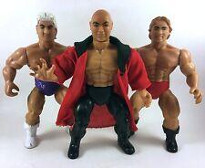 Vintage AWA Remco Wrestling Action Figure Lot Ric Flair Zbyszko Baron Von Rasche
