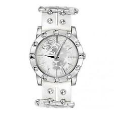 Mens Womens Watch VERSUS Versace MIAMI SF701 Leather White Brooch Studs