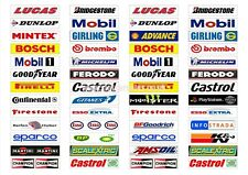 Scalextric Crash Barrier Advertising stickers all new mix 104 for only £7.99
