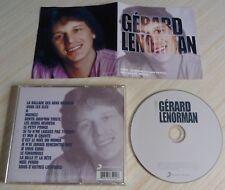 RARE CD ALBUM BEST OF LA COLLECTION GERARD LENORMAN 16 TITRES 2009