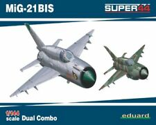 Eduard 1/144 Model Kit 4427 Mikoyan MiG-21BIS DUAL COMBO SUPER44