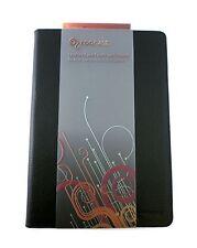 ROOCASE for ASUS Transformer Prime - Slim-Fit Leather Folio Case - BLACK