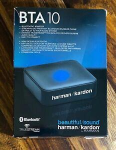 Harman Kardon BTA-10 External Bluetooth Wireless Adapter NEW IN BOX
