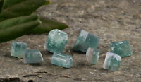12g Lot Blue TOURMALINE Crystals, Namibia - Stone Cabochon Jewelry Making23372